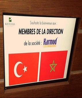 Marokashning eng katta oziq-ovqat ishlab chiqaruvchisi Koutoubia xoldingiga tashrif
