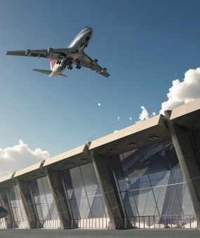 Uchinchi aeroport aerodromining qurilish ob'ektlari Karmod tomonidan bajarildi