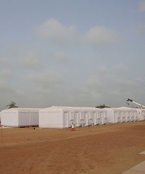 Senegalda modulli boshqaruv kabinalarini o'rnatish