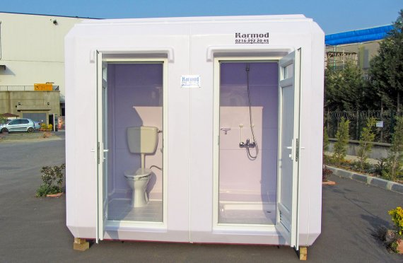 150x270 Portativ hojatxona & dush kabin