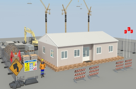 Modul ofis binolar 125 m2