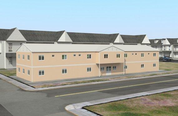 Modulli ijtimoiy muassasalar 793 m²