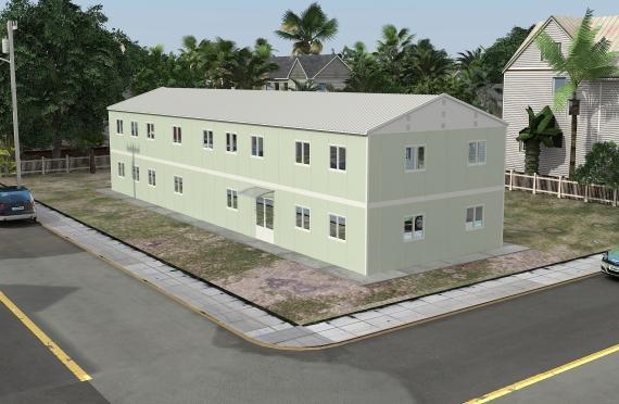 Modul ofis binolar 463 m²