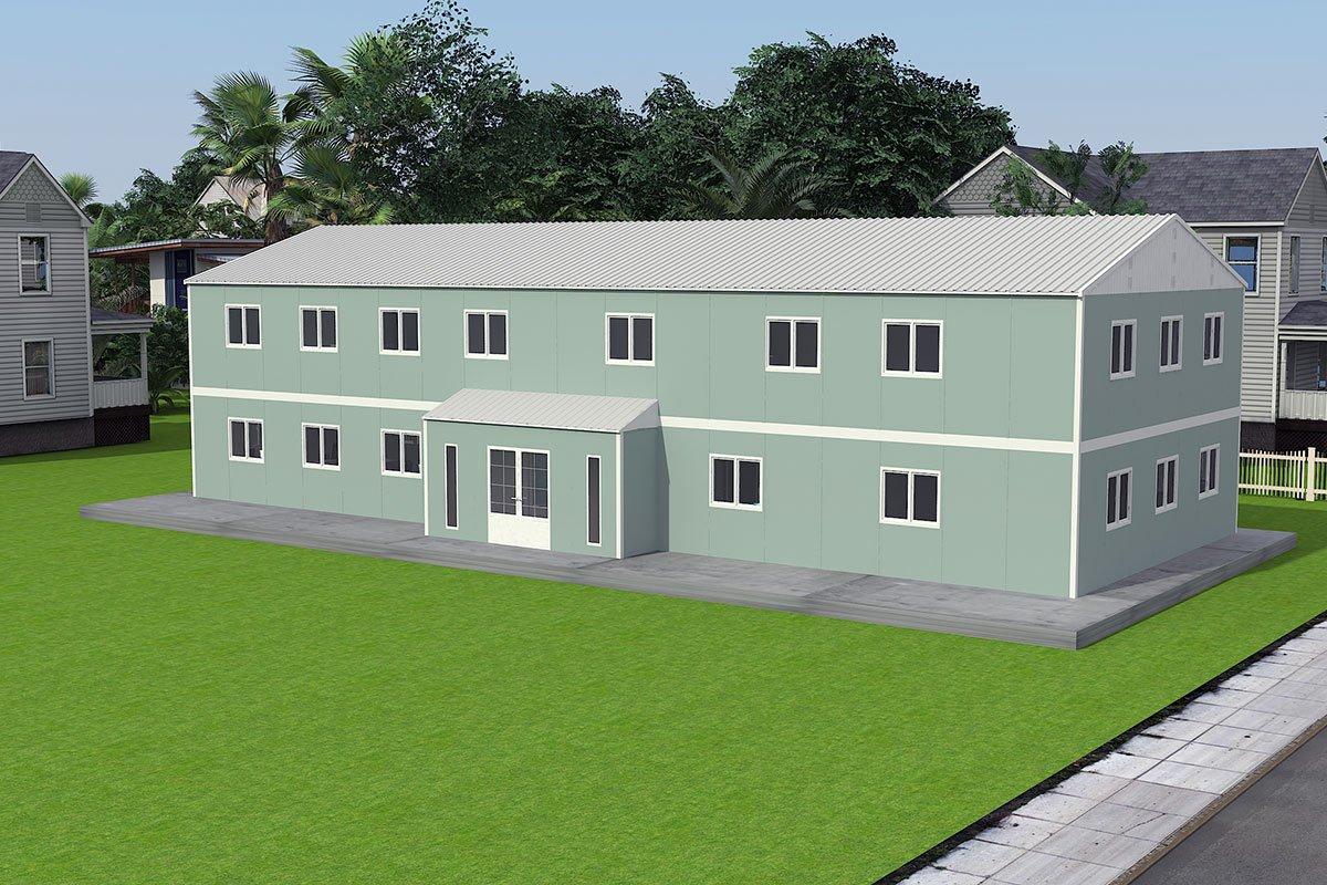 Modul ofis binolar 415 m²