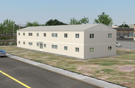 Modul ofis binolari 588 m²