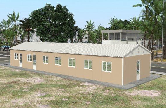 Prefabrik tijoriy oshxona 139 m2