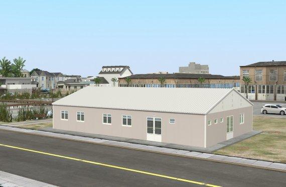 Prefabrik tijoriy oshxona 217 m²