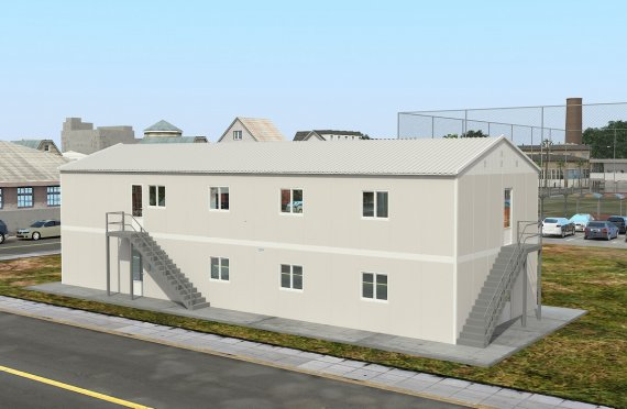 Prefabrik tijoriy oshxona 332 m²
