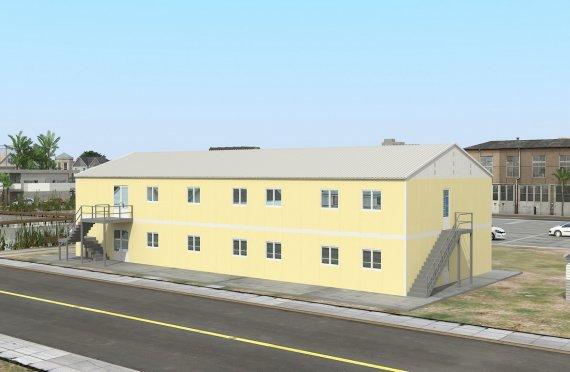 prefabrik tijoriy oshxona 576 m²
