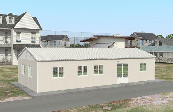 Prefabrik tijoriy oshxona 98 m2
