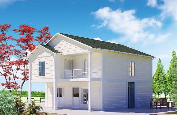Prefabrik uy villa 130 m2