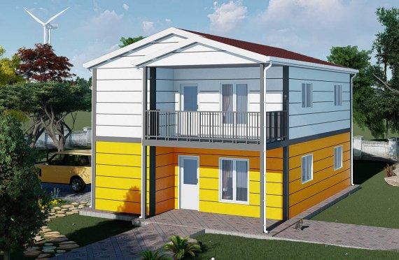 137 m2 Prefabrik Villa