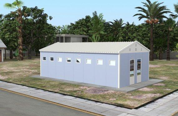 Prefabrik hojatxona & dush binoasi 52 m2