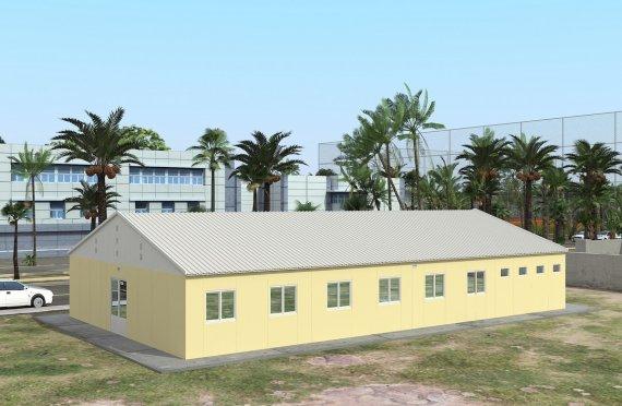 Prefabrik yotoqxona 232 m2