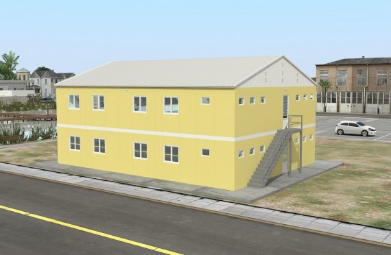 Modul turar joy binosi 348  m²
