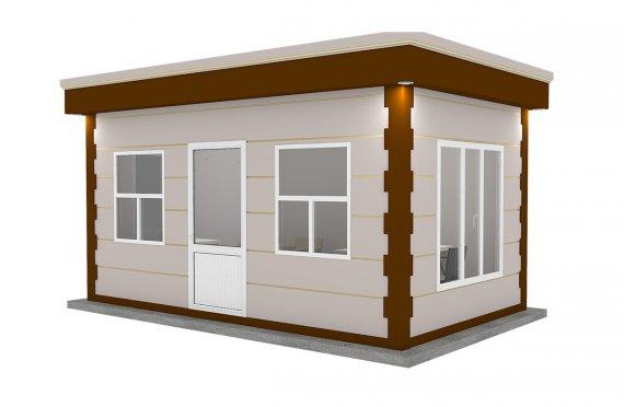 Zamonaviy prefabrik kabina 300x500