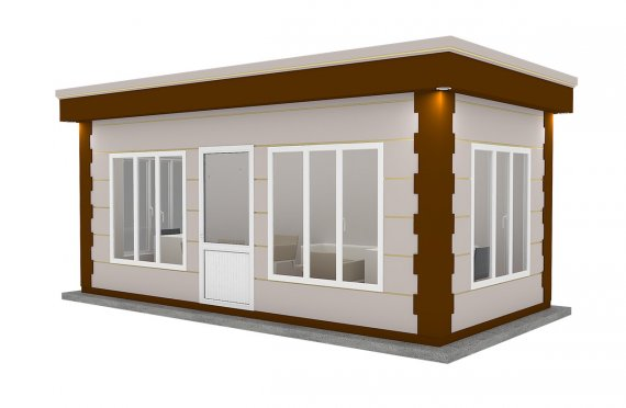 zamonaviy prefabrik kabina 300x600