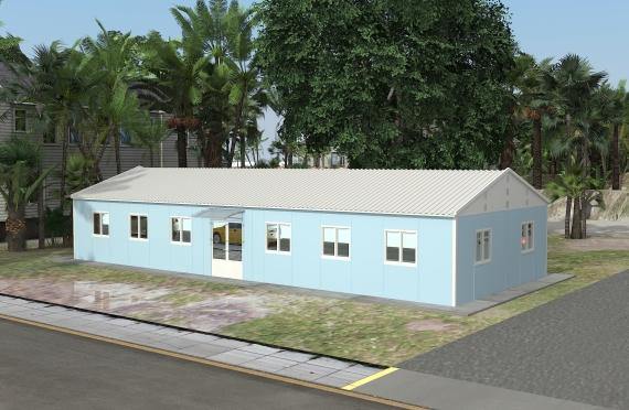Modul ofis binolar 146 m2