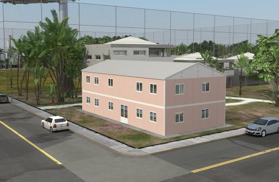 Modul ofis binolar 340m²