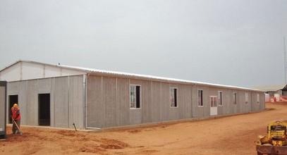Senegaldagi ma'dan Prefabrik binosi