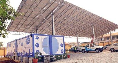 Karmodning yangi avlod konteyneri Nigeriyada quyosh energiyasini saqlash uchun ishlatiladi