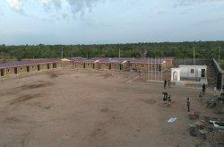 Karmod Nigeriyada harbiy ob'ektlarni yakunladi