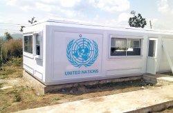 Karmod lagerlari BMT tinchlikparvarlari uchun Nigeriyada